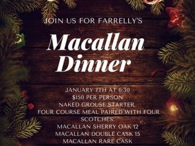 Macallan Dinner