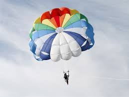 Probably a bad picture but it's a parachute